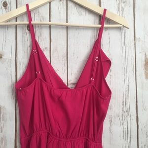 Monteau Pants - NWT Monteau hot pink chiffon romper